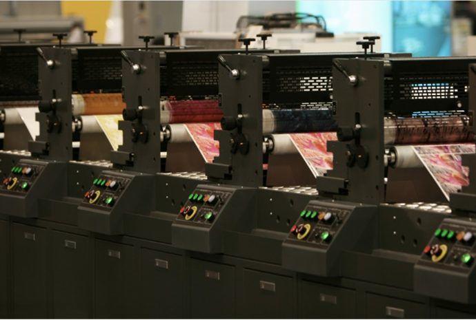 6 soorten drukkerijen onder de loep rotatie drukkerij