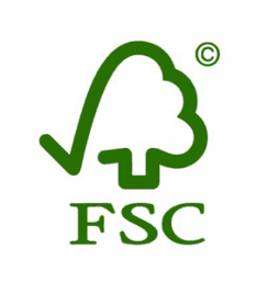 Logo- Forest Stewardship Council- FSC