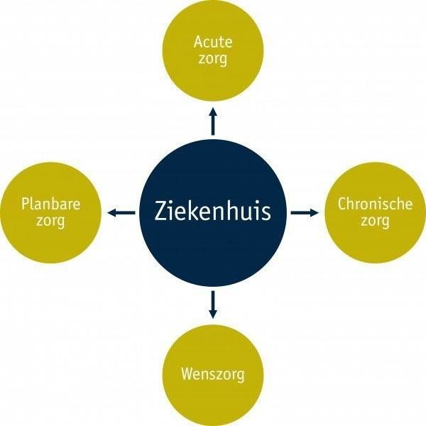 marketingcommunicatie voor ziekenhuizen a different cup of tea vier segmenten