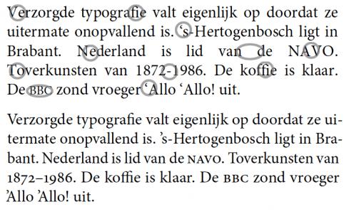 typografie word