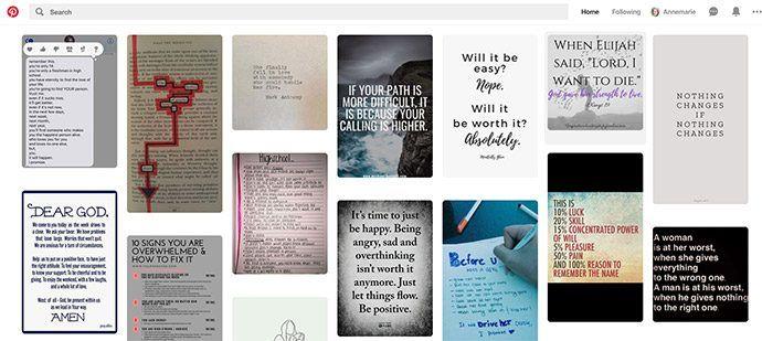 Pinterest social media overzicht