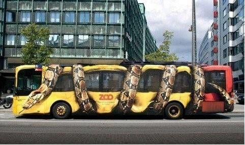 meer effect met jouw buitenreclame succesvolle voorbeelden bus met slang