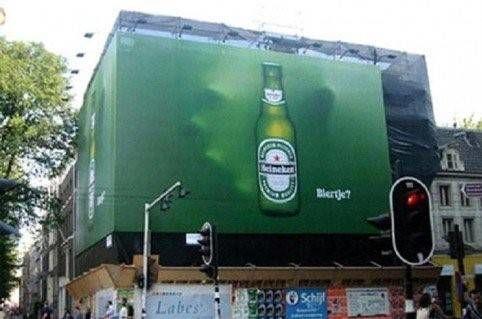 meer effect met jouw buitenreclame succesvolle voorbeelden Heineken