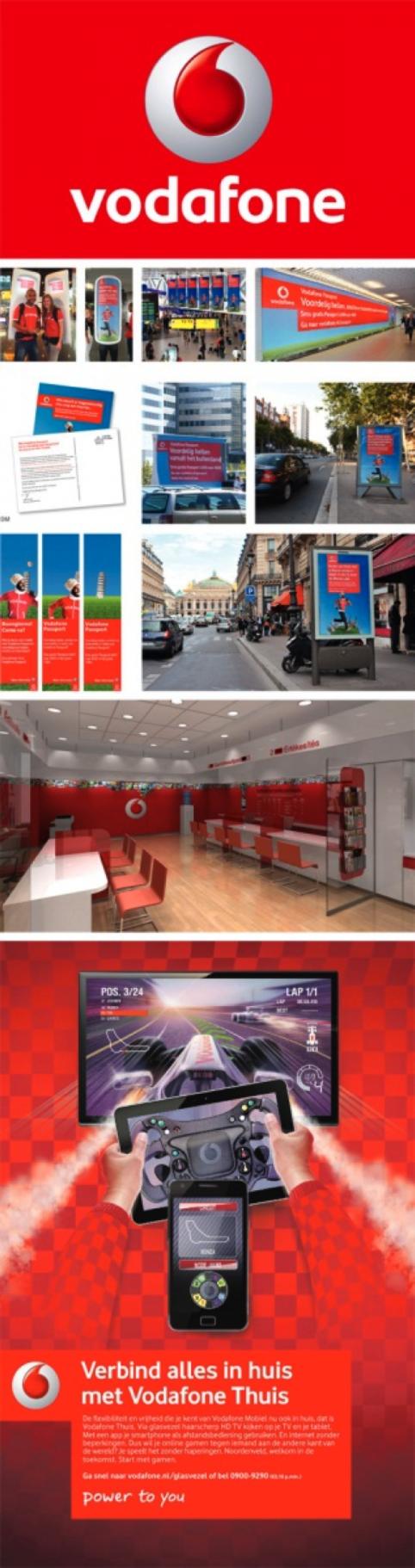 merkbeleving de kracht van kleur herkenning Vodafone