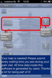 pretpark pretpark plattegrond hulp pretpark app