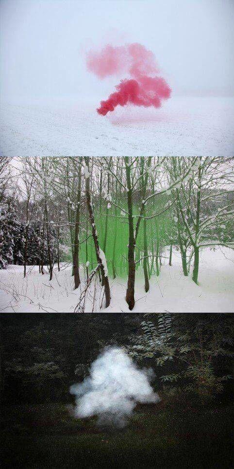 holi powder kleurpoeder van traditie naar kunstvorm landschapsfotografie van filippo minelli