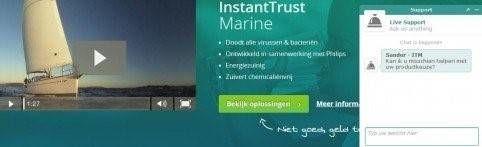Instant trust marine