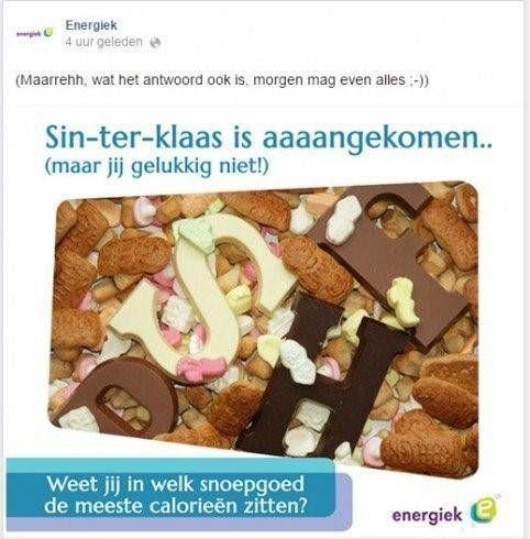 Energiek Sinterklaas
