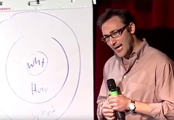 Bekijk the golden circle van Simon Sinek eens anders