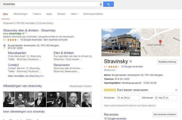 Stravinsky search
