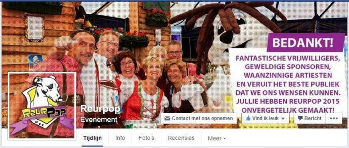 Evenement organiseren tips facebookpagina