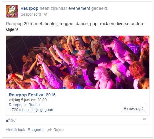 Facebookevenement