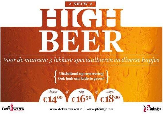 High beer pleintje