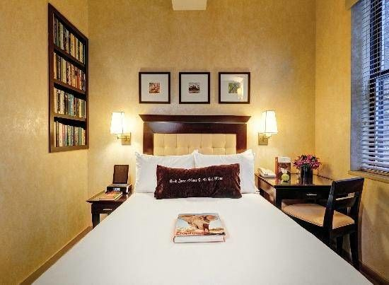 the library hotel kamer
