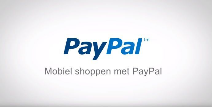 Paypal qr code shoppen video