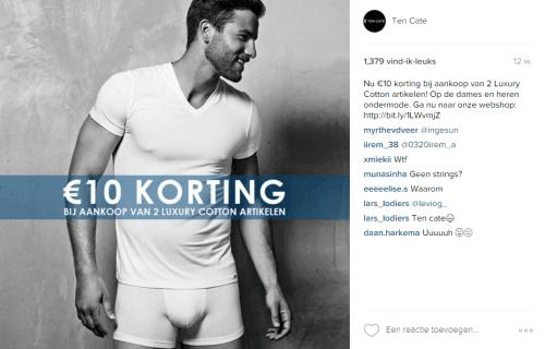 Instagram advertentie