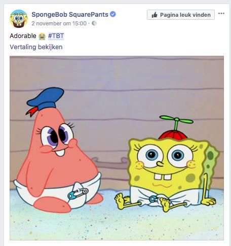 Spongebob verhaal