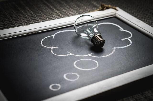 Opkomende ideeën door inspiratie