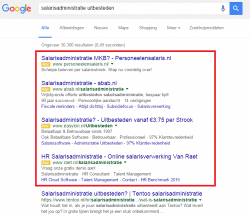 5 stappen website als leadgenerator google adwords