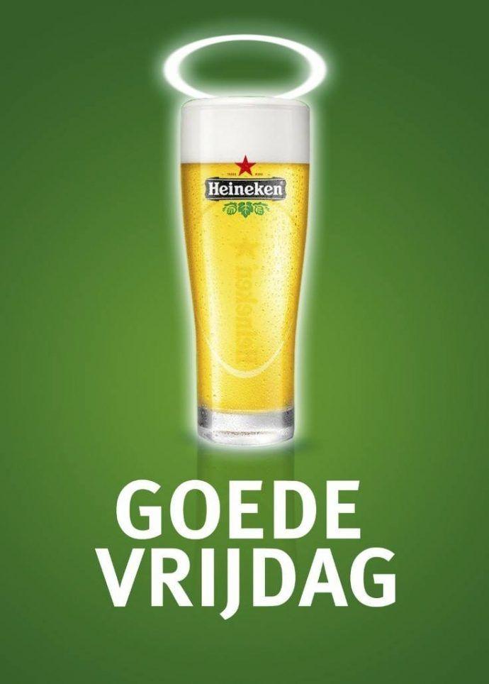 Voorbeeld paasreclame Heineken 2