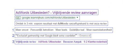 Expanded text ads voordelen in de zoekmachine