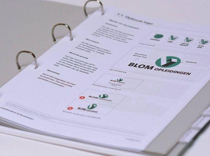 huisstijlhandboek 8 elementen tips en voorbeelden blom