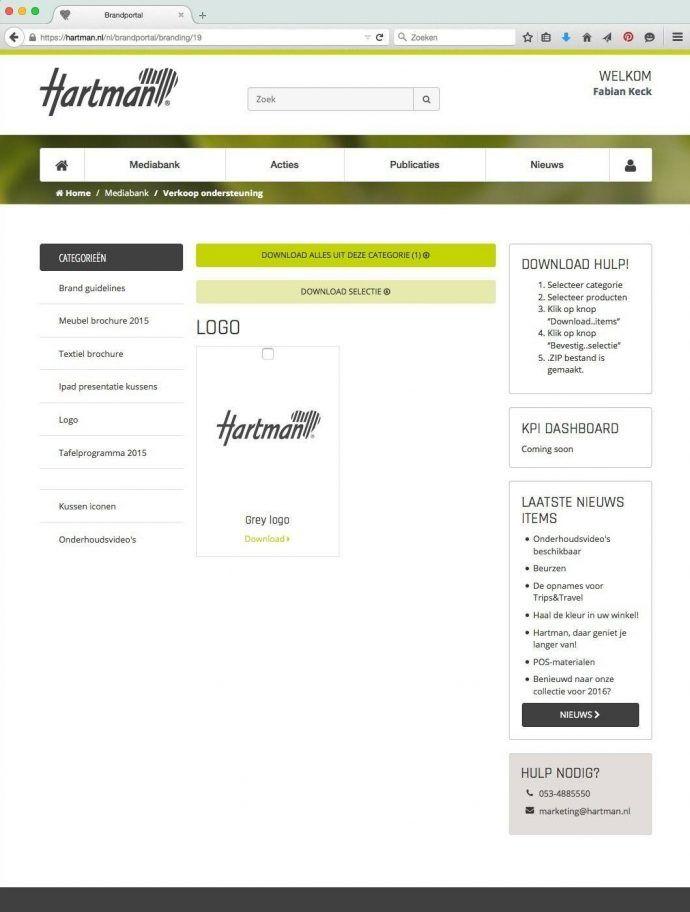 huisstijlhandboek 8 elementen tips en voorbeelden voorbeeld online merkportaal hartman
