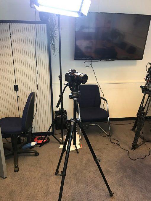 Belichting voor het maken van video's