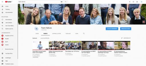 YouTube is het middel voor het MKB