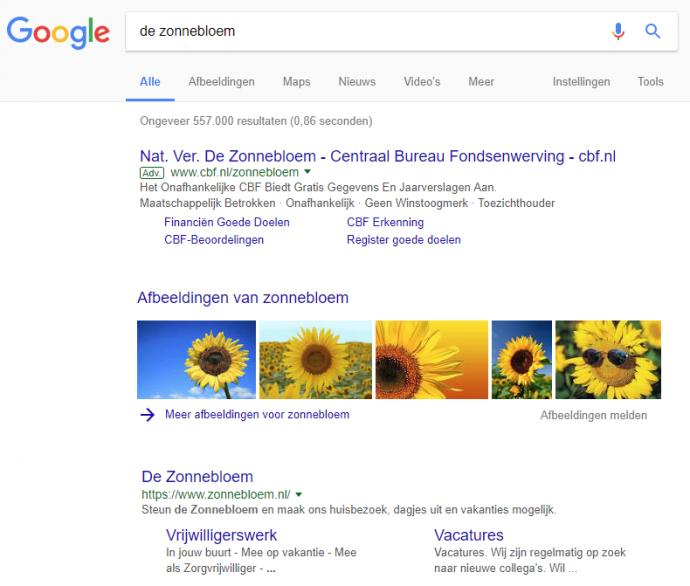 de #1 reden waarom je nooit moet stoppen met google adwords je hoeft niet altijd nummer 1 te zijn zonnebloem