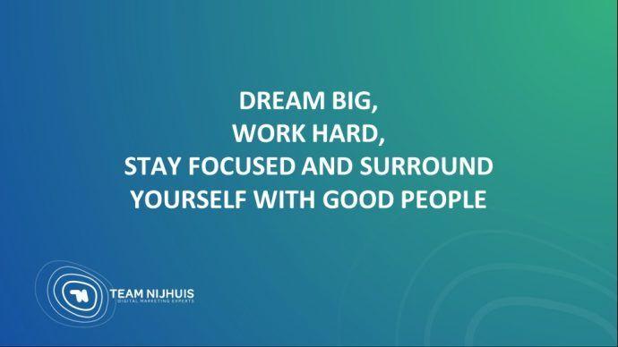 11 redenen om wel of niet te kiezen voor een inhouse digital marketing team dream big work hard