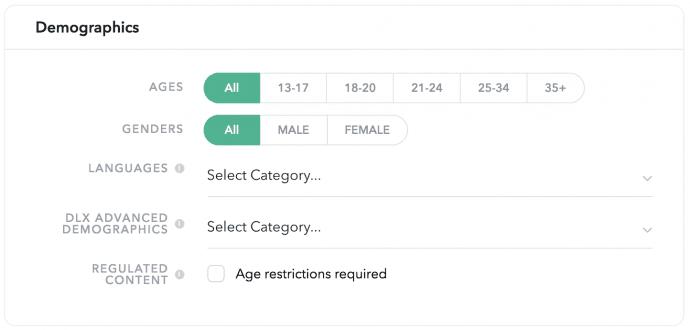 Demografisch snapchat