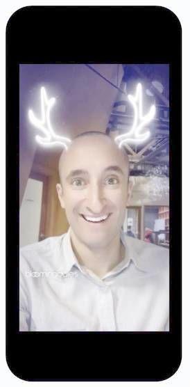 Snapchat sponsered lens