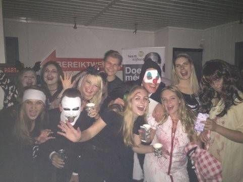 Halloween thema feest