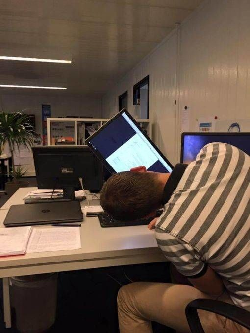 Grapjes op de werkvloer bij Team Nijhuis
