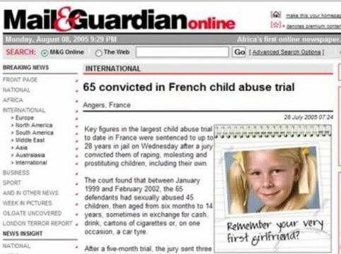 Kindermisbruik bericht adverteren op internet eerste vriendinnetje