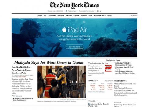 Malaysia vliegtuig stort in zee gebruik de ipad onder water
