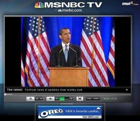 Obama speech is het favoriete koekje van melk