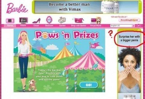 Online advertentie vimax mannen bij barbie