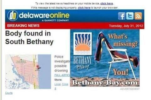 Onlineadvertentie wat mist hier bij nieuws gevonden lichaamsdelen