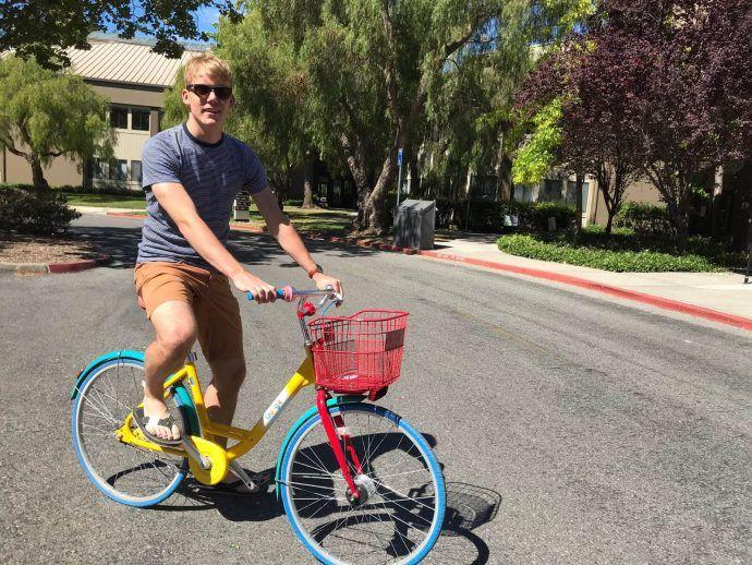 Op-de-fiets-bij-Google