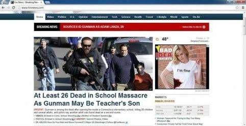 Slecht idee bij massamoord