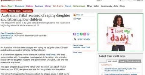 Vader verkracht dochter advertentie i love daddy