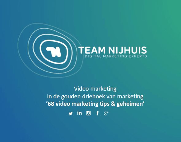 Video marketing presentatie