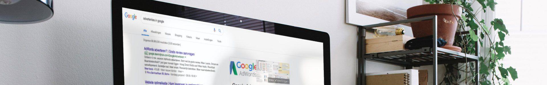 Advertenties op Google plaatsen met zoekmachine adverteren