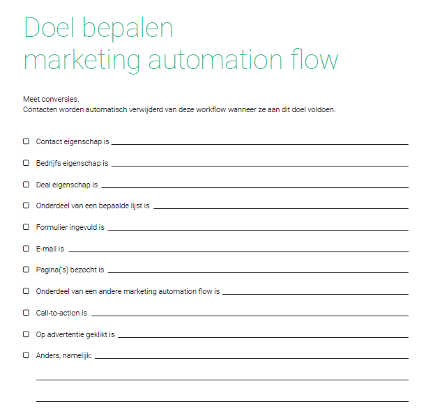 Rol van email bij marketing automation