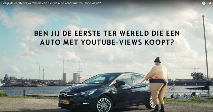 YouTube video bedrijf