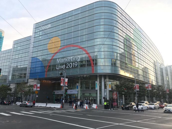 Start Google Marketing Live 2019 event in San Francisco