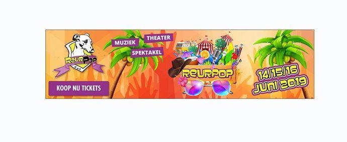 Dynamische display advertenties reurpop festival