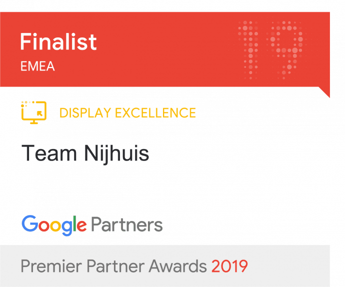 Google Display excellence award nominatie
